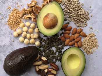 Avocado nuts and seeds