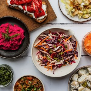 Brightly coloured food to eat the rainbow